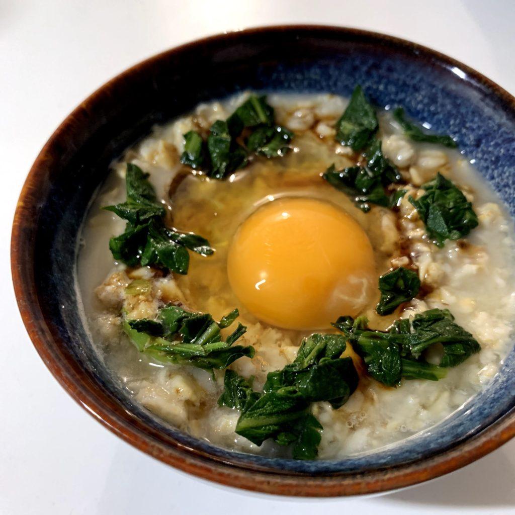 卵かけごはんオートミール